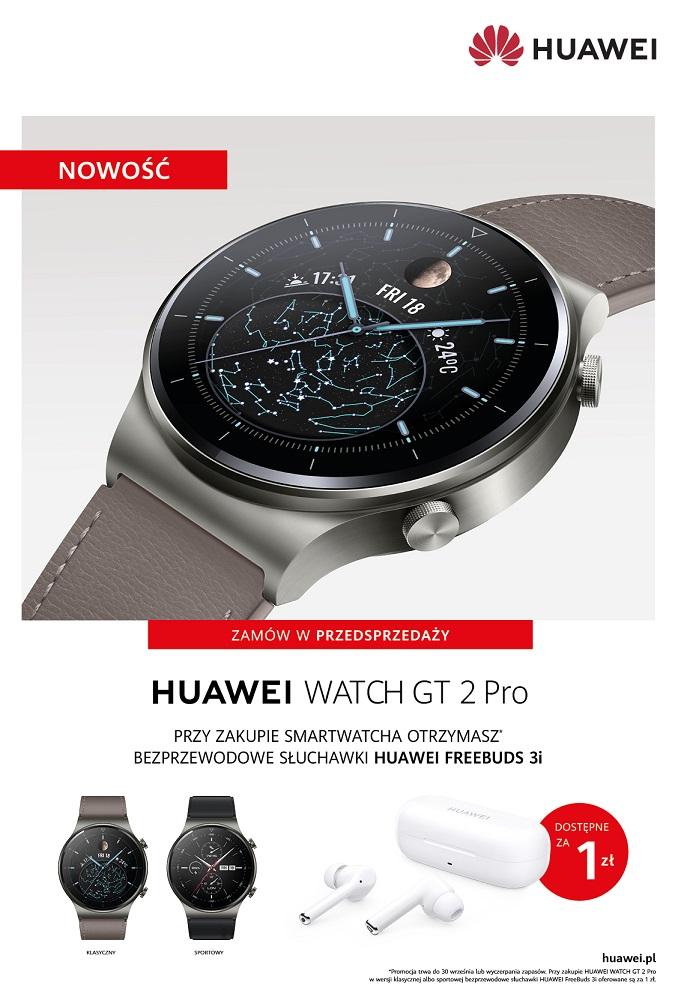 WATCH GT 2 Pro oferta w przedsprzedaży