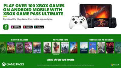 Xbox Game Pass Ultimate już od dziś – 150 gier dla urządzeń mobilnych z Androidem
