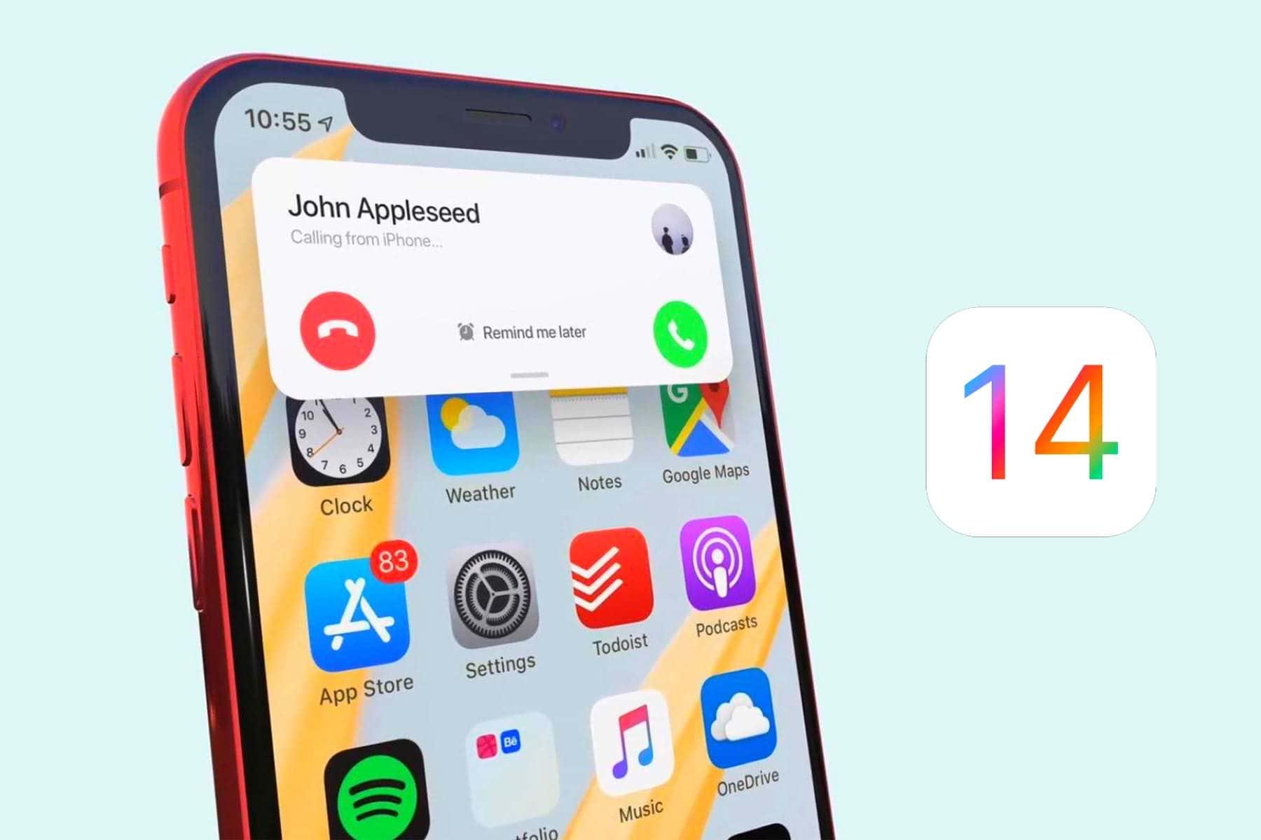 iOS 14 Apple iPhone iPad 4