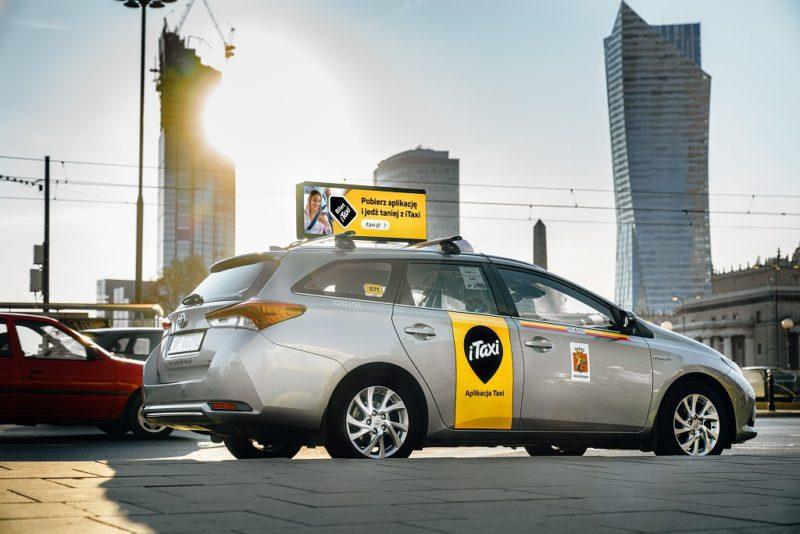 iTaxi wchodzi z technologią w rzeczywisty, codzienny świat, wprowadzając do Polski pierwszą mobilną sieć reklamową