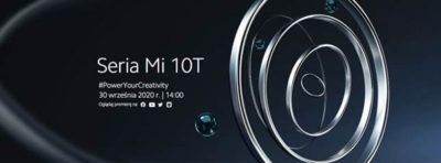 Xiaomi - premiera serii Mi 10T - 30 września o godzinie 14:00