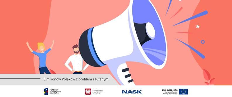 Już 8 milionów Polaków korzysta z profilu zaufanego