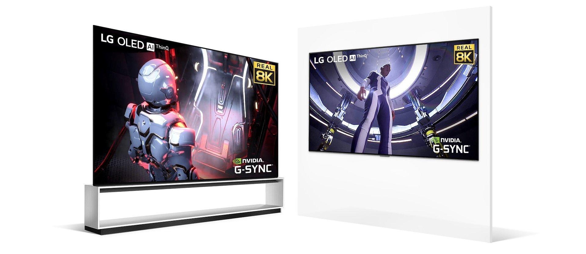 LG i NVIDIA łączą siły! Gry w rozdzielczości 8K na telewizorach LG OLED 8K
