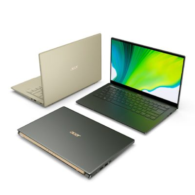 Ceny laptopów Acer Swift 5 i Swift 3 z procesorami Intel Core 11 generacji