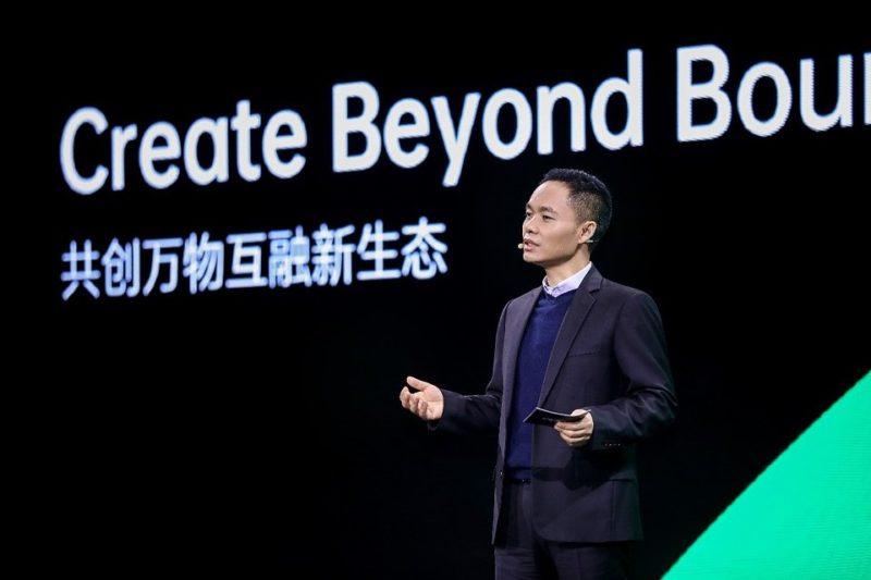 Dyrektor generalny OPPO Tony Chen na wirtualnym wydarzeniu IFA 2020