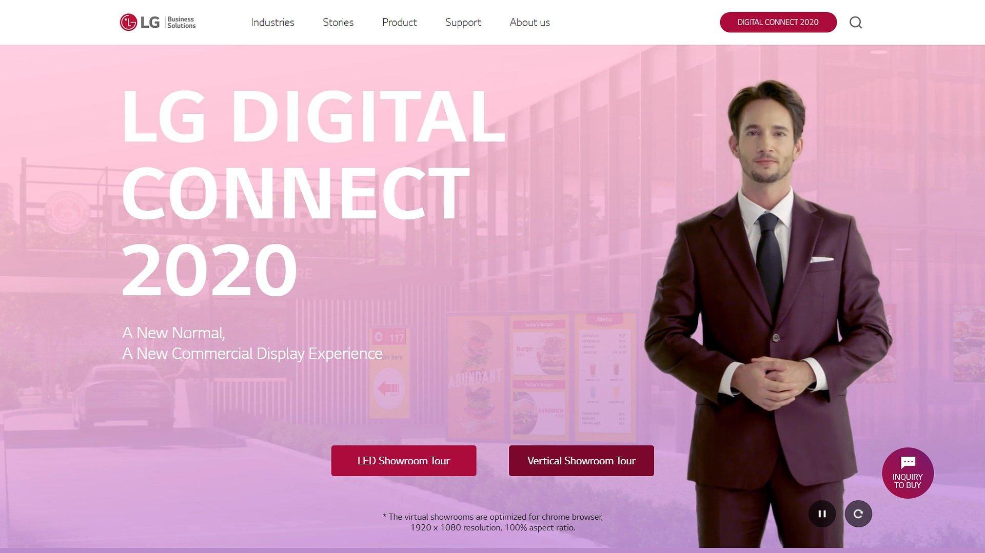 Najnowsze rozwiązania Digital Signage firmy LG – platforma Digital Connect 2020
