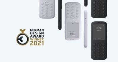 Polski minimalistyczny telefon nagrodzony German Design Award 2021