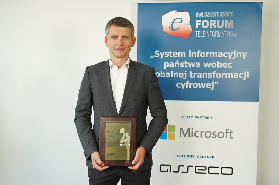 """PKO Bank Polski wyróżniony nagrodą """"Złotego Herolda"""""""