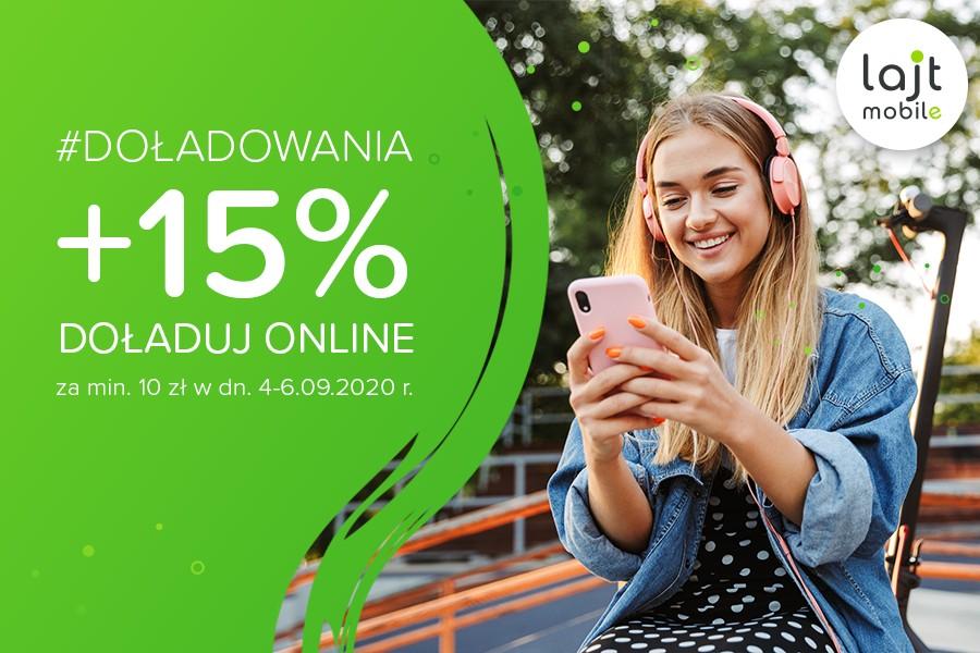 Lajt mobile - promocja doładowań