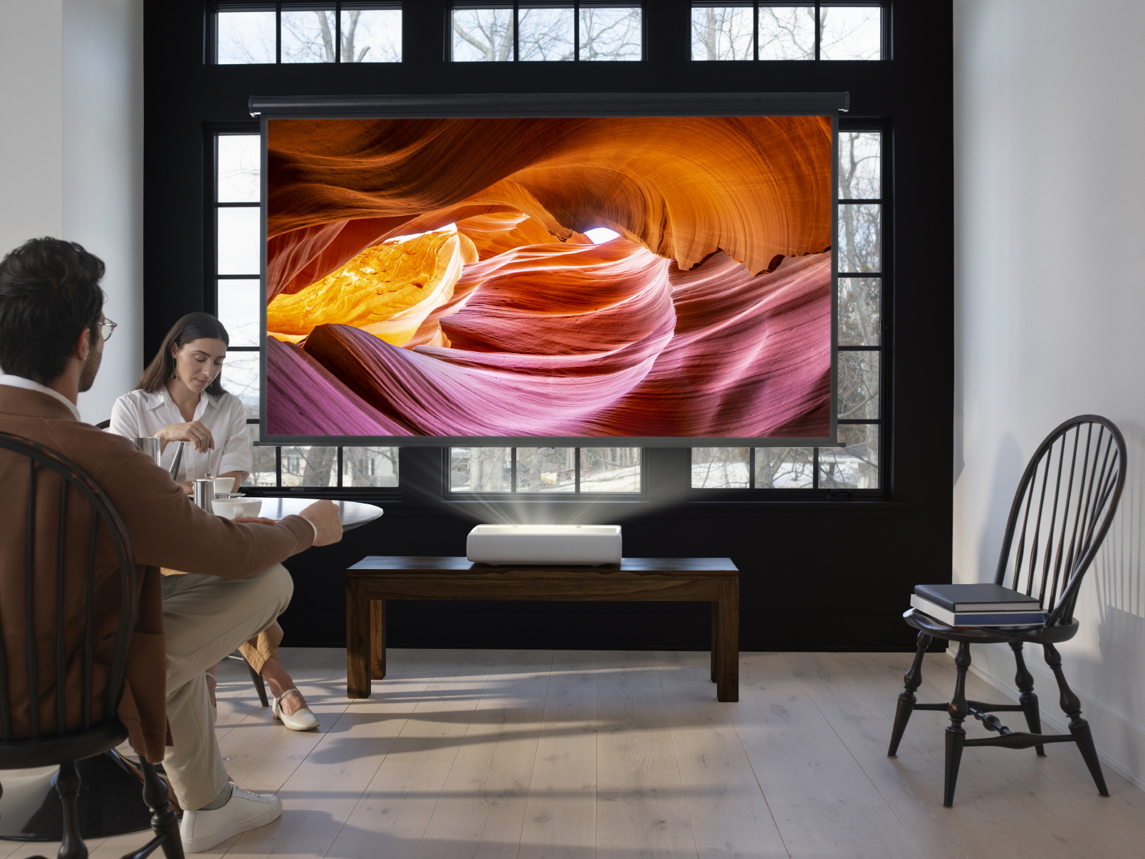 Debiut projektora Samsung The Premiere o ultrakrótkim rzucie