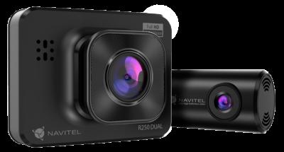 NAVITEL R250 DUAL – nagrywanie podwójnego obrazu podczas jazdy