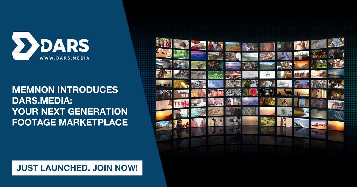 Memnon – firma z grupy Sony wprowadza DARS.MEDIA: platformę nowej generacji z materiałami filmowymi