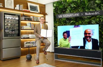 LG i luksusowa, włoska marka Molteni&C S.P.A rozpoczęły współpracę