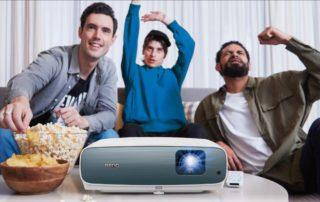 BenQ W2700i, BenQ TK850i – domowe projektory 4K HDR smart z Android TV certyfikowanym przez Google