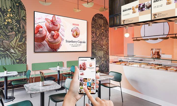 Samsung wprowadził nową kategorię wyświetlaczy – Business TV