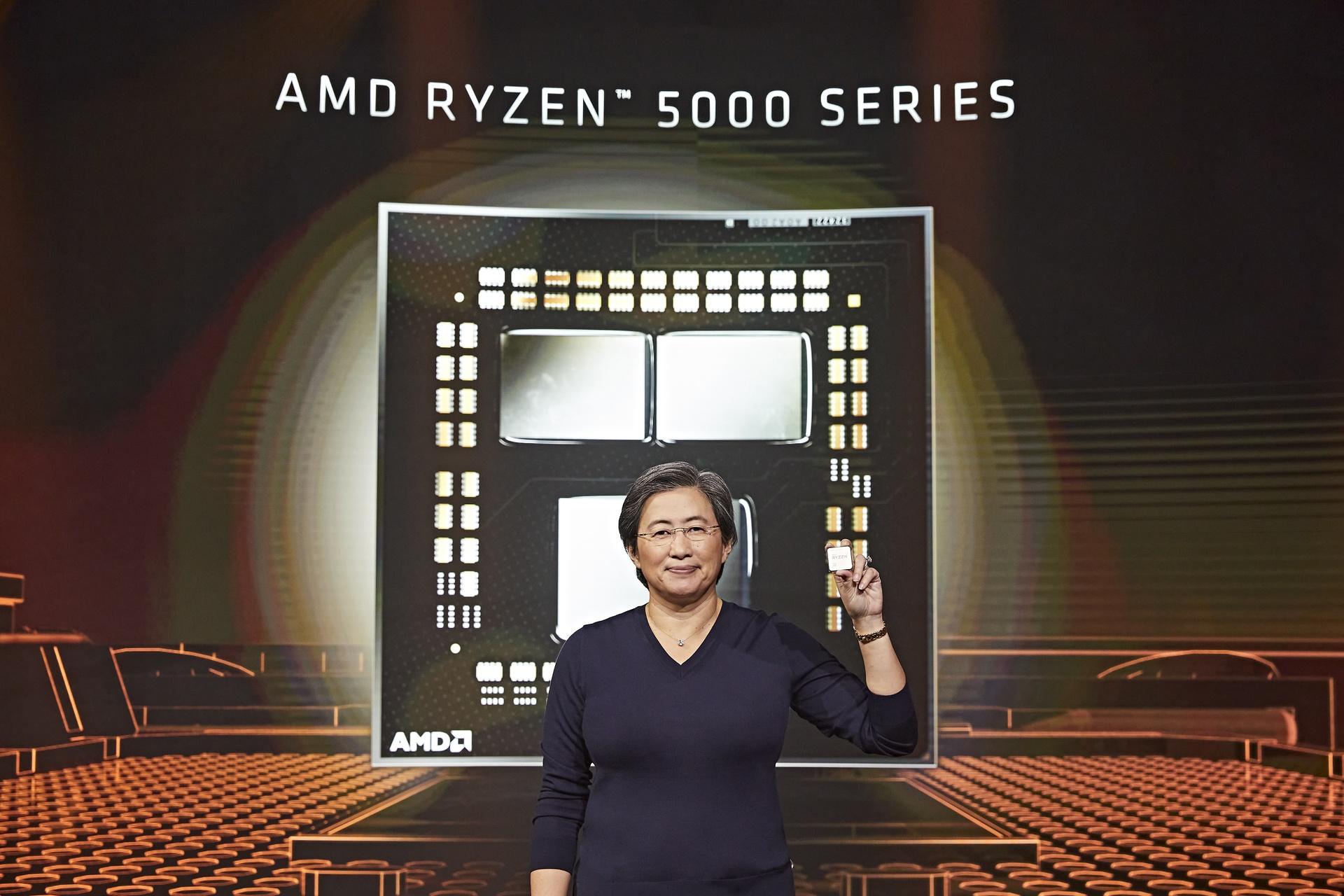 Firma AMD prezentuje procesory AMD Ryzen 5000 dla komputerów stacjonarnych: to najszybsze na świecie procesory dla graczy