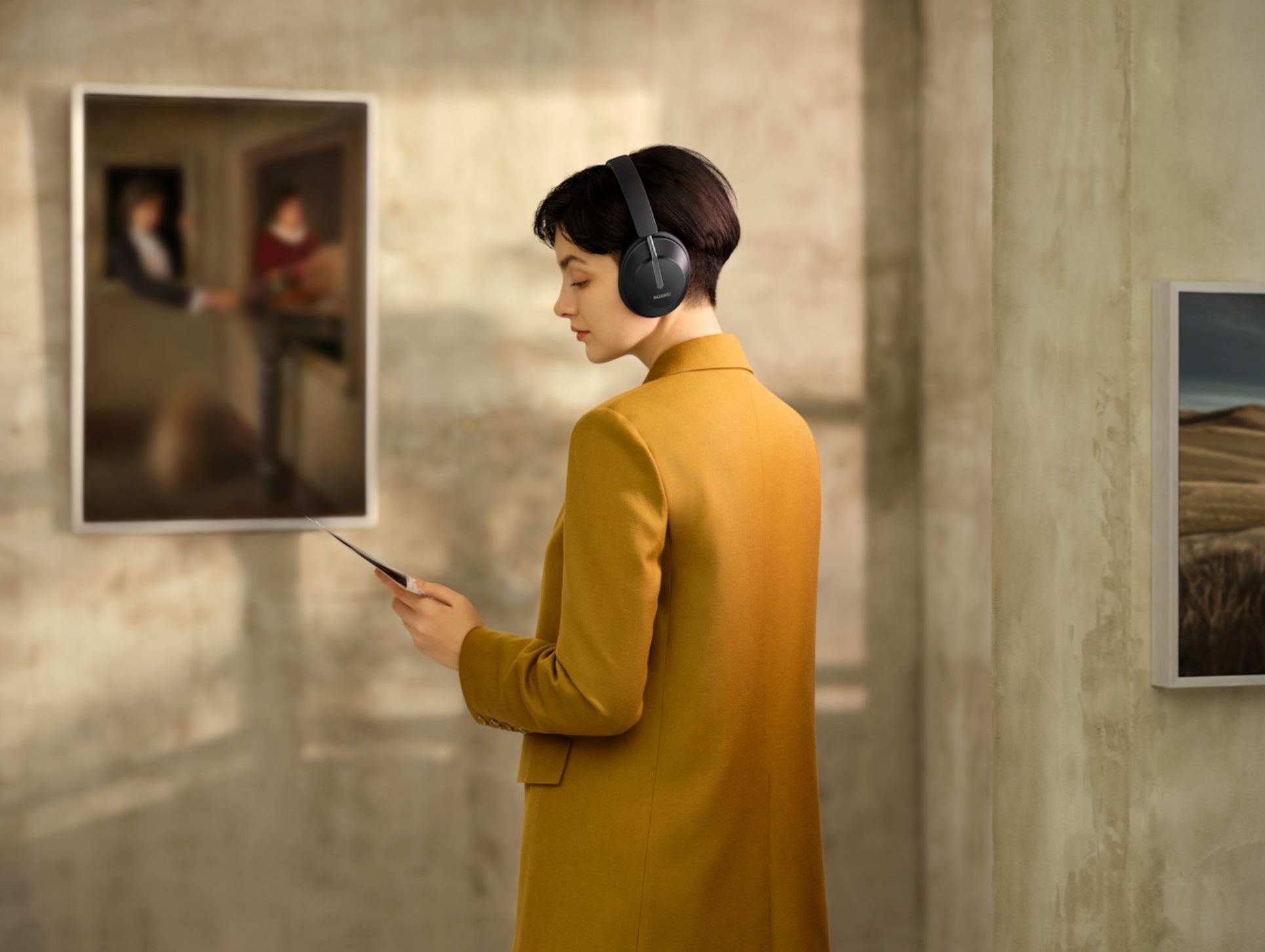 Huawei FreeBuds Studio – pierwsze nauszne słuchawki marki z dynamiczną redukcją szumów