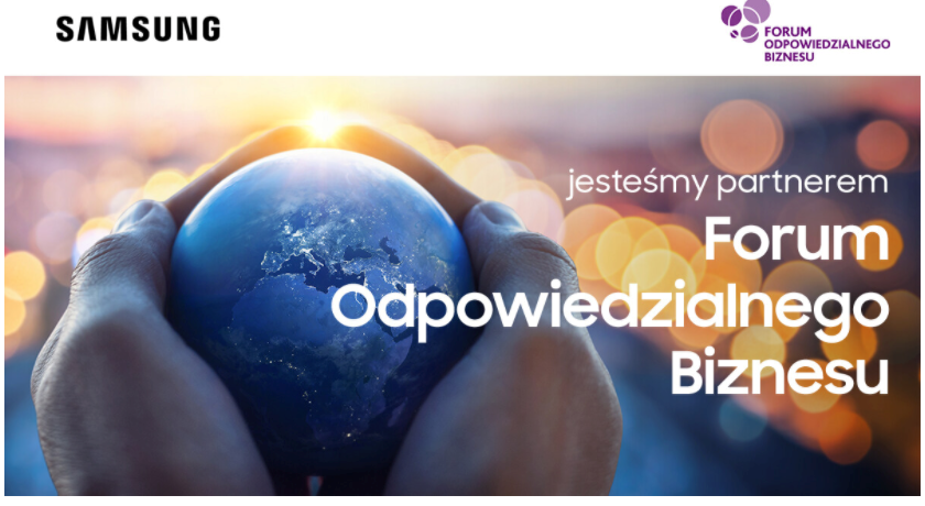 Samsung partnerem strategicznym Forum Odpowiedzialnego Biznesu