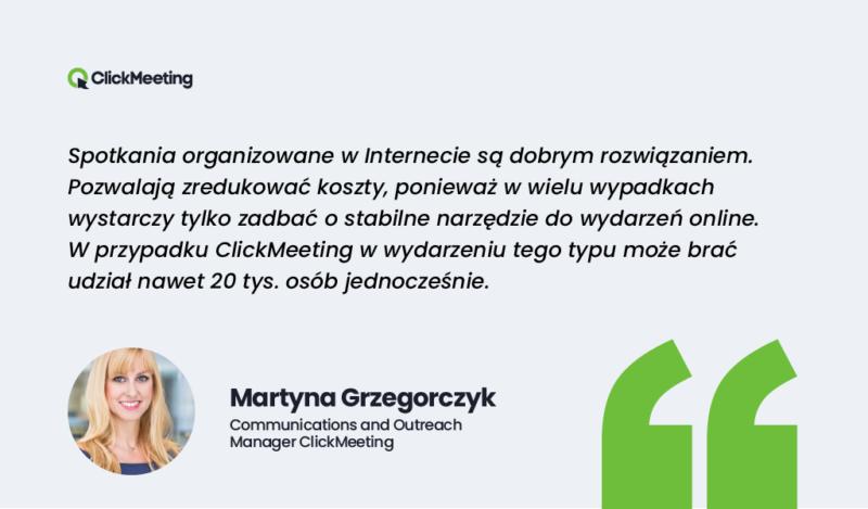 Martyna Grzegorczyk wypowiedz