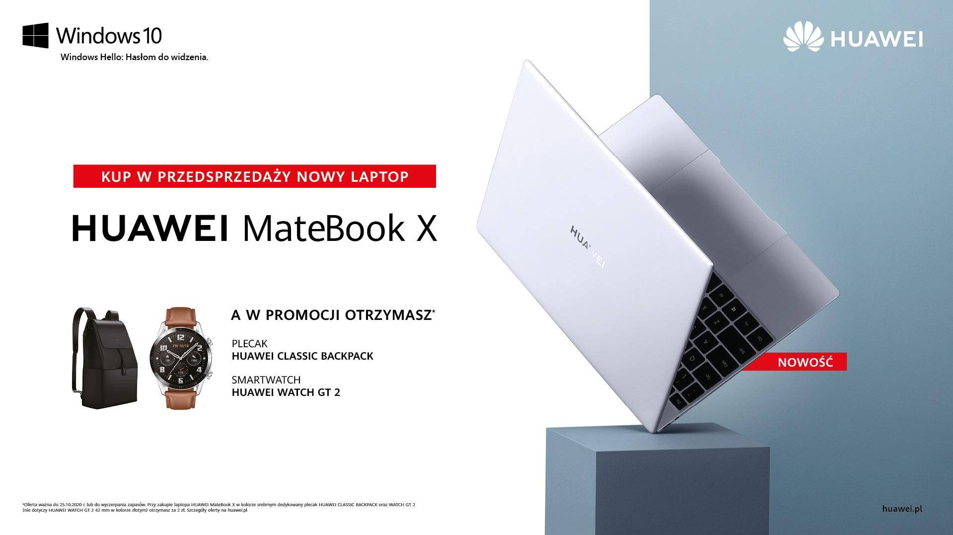 MateBook X oferta w przedsprzedaży