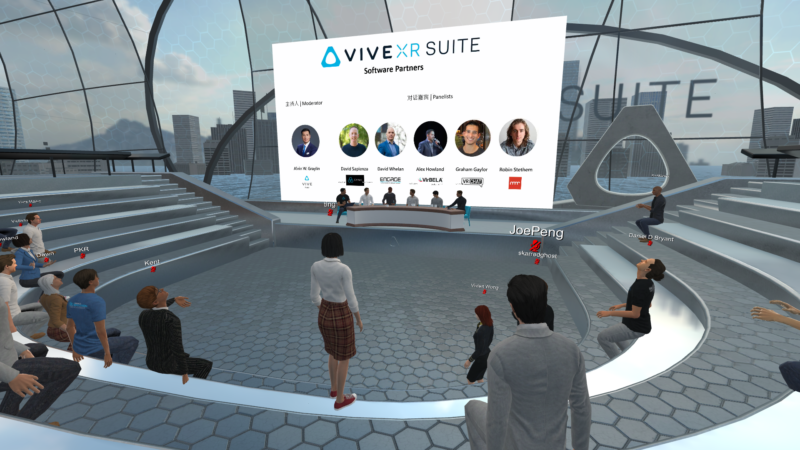 NEED TO EDIT NAMES Vive Sessions   panel discussion