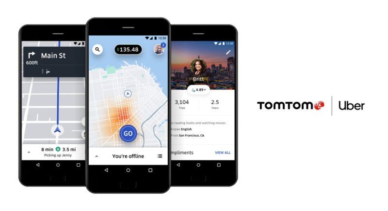 TomTom i Uber zacieśniają współpracę w celu uzyskania lepszych doświadczeń związanych z mapowaniem