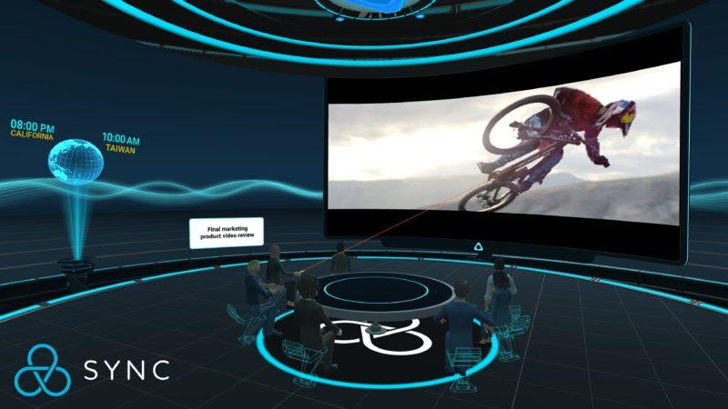 Vive Sync   big screen presentation
