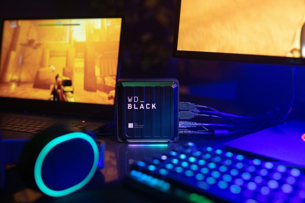 WDBlack D50 SSD Lifestyle