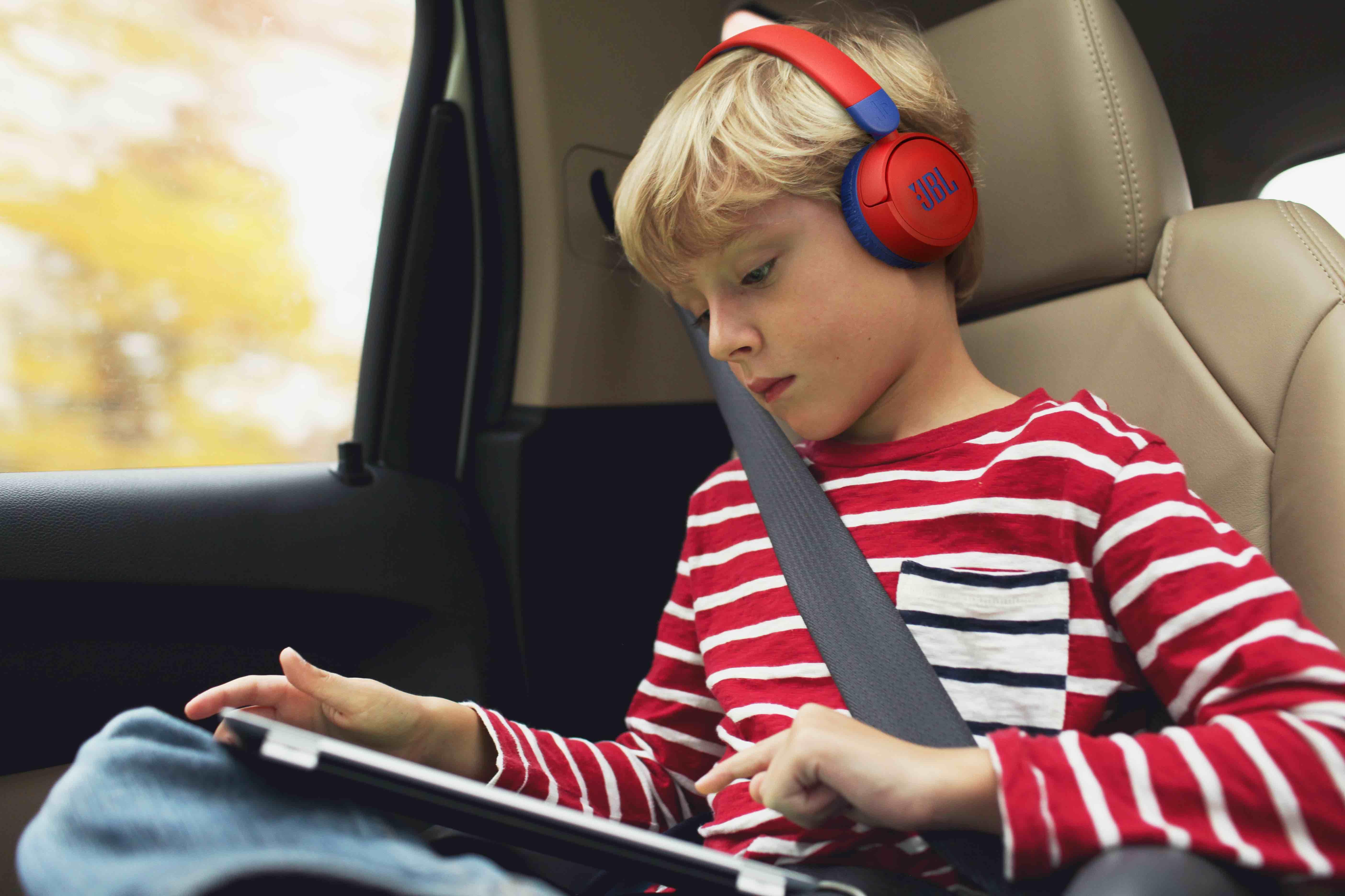JBL Jr 310 BT – bezprzewodowe słuchawki nauszne dla dzieci
