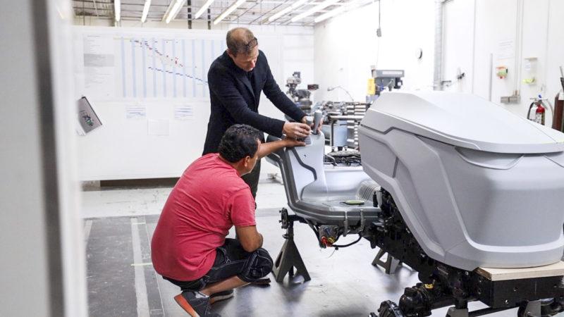fot2 Lifting rodem z Kalifornii, czyli jak John Deere tworzył nowe maszyny z designerami BMW