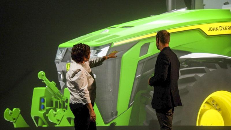 fot3 Lifting rodem z Kalifornii, czyli jak John Deere tworzył nowe maszyny z designerami BMW