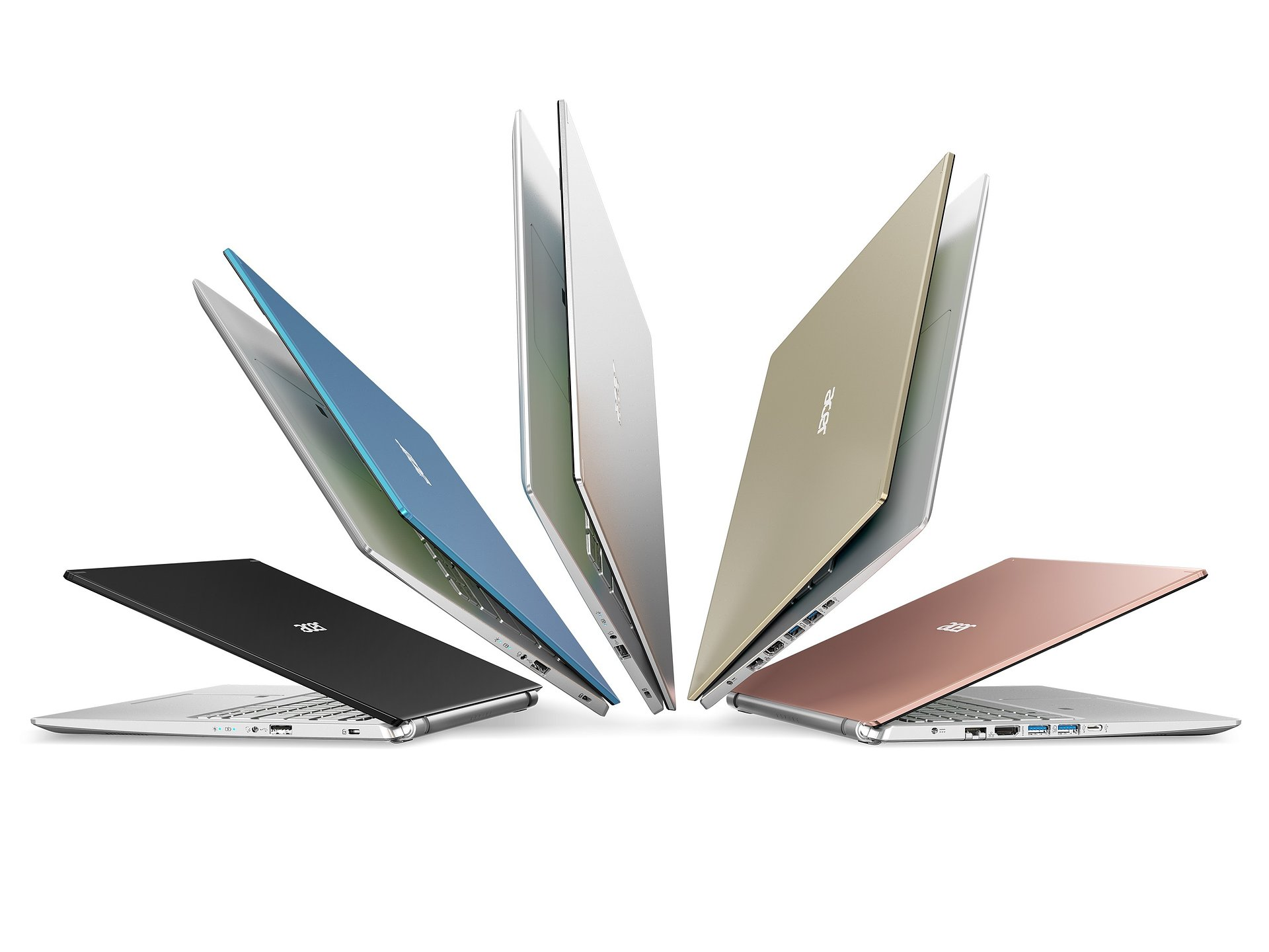 Acer ogłasza najnowsze linie notebooków konsumenckich z serii Swift, Spin i Aspire