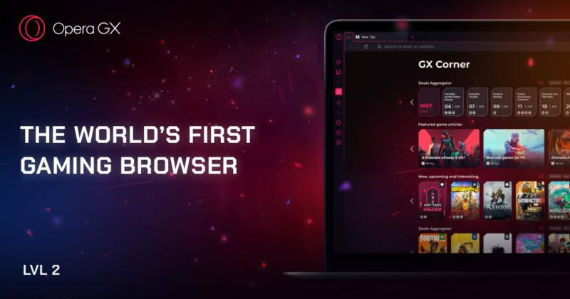 Nowa Opera GX – jeszcze szybsza i pełna kolorów