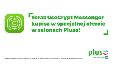 UseCrypt Messenger w ofercie Plusa