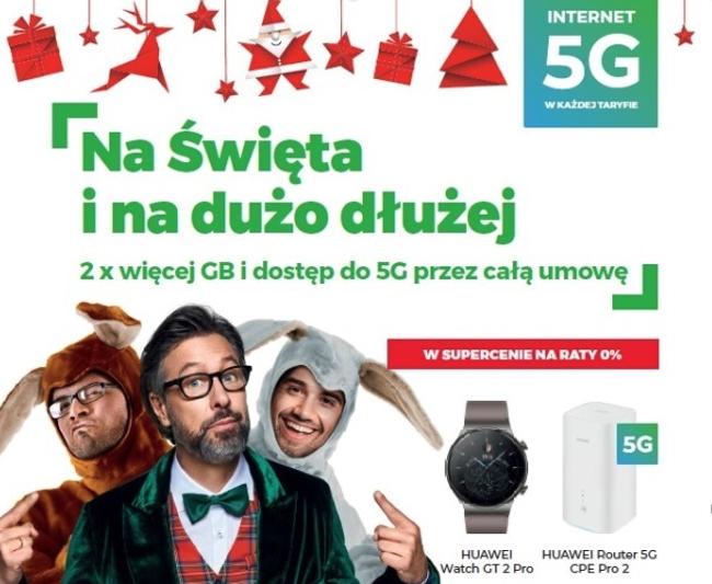 Świąteczna promocja Plus Internet