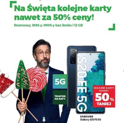 Na Święta w Plusie – 5G w cenie abonamentu przez całą umowę