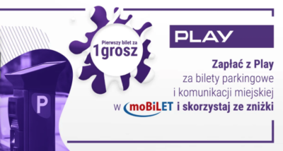 Zniżka 10 zł także w moBiLET dla klientów PLAY