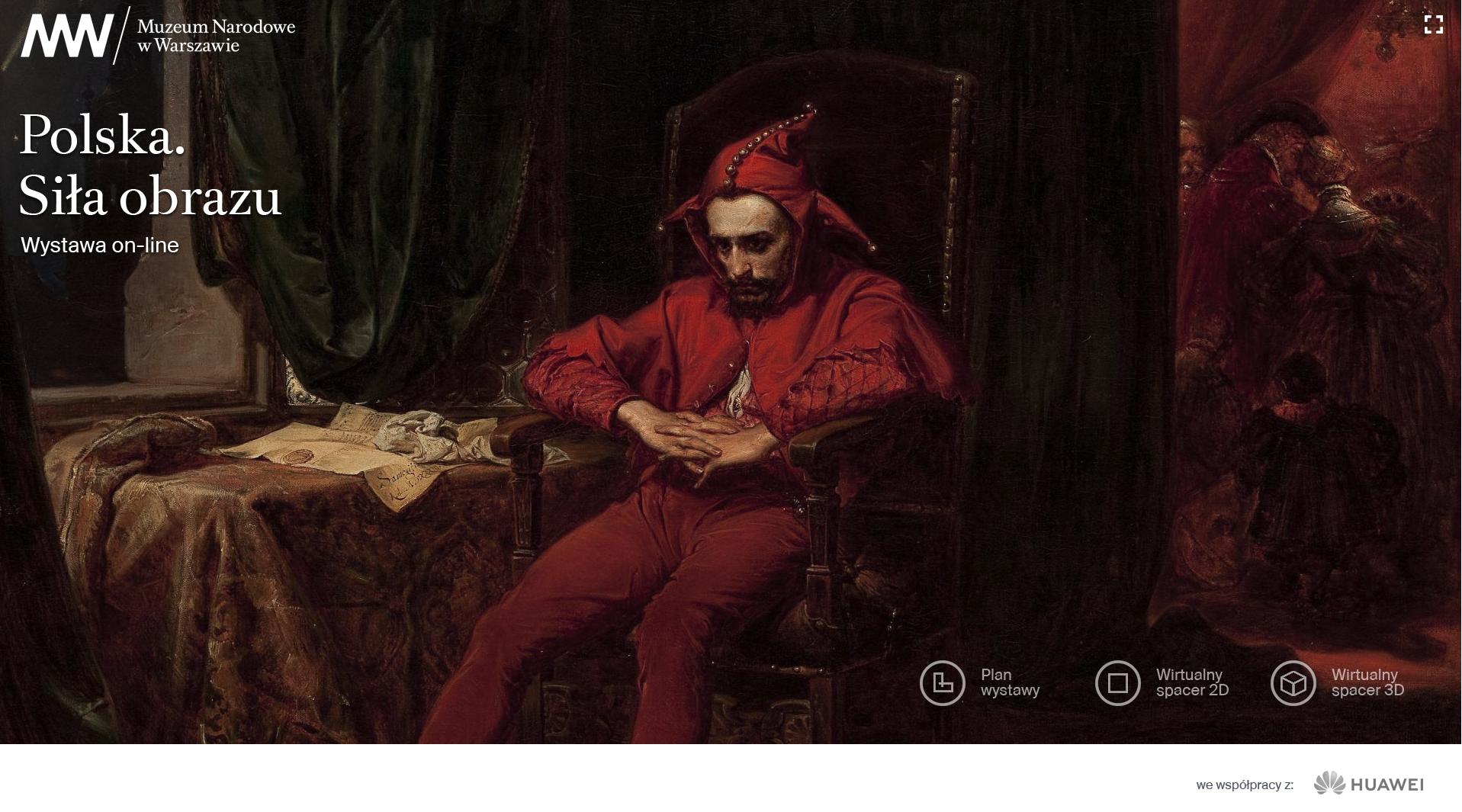 Sztuka bez ograniczeń – Muzeum Narodowe w Warszawie wchodzi w cyfrowy świat dzięki Huawei Polska