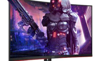 """AOC: dwa nowe zakrzywione monitory 32"""" z odświeżaniem 165 Hz"""