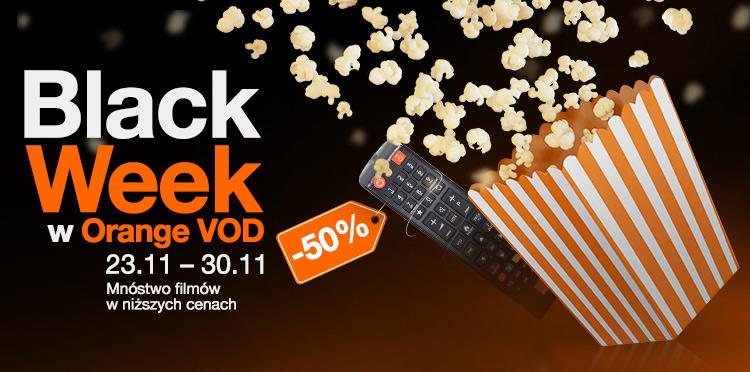 Black Week w Orange VOD – przeceniamy filmy