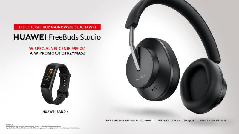 Huawei FreeBuds Studio   oferta premierowa