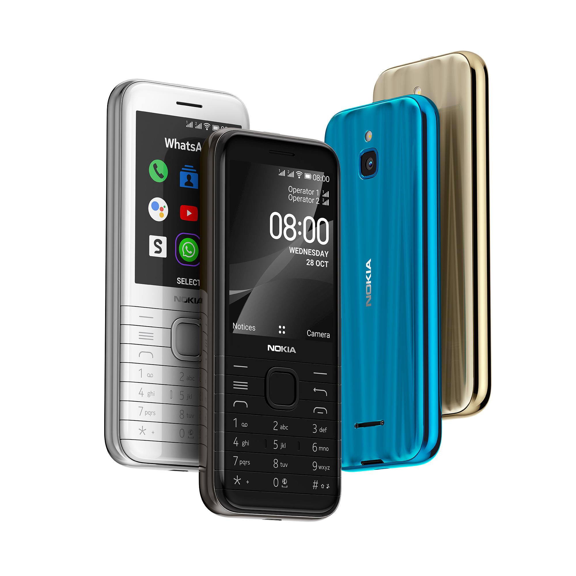 """HMD Global prezentuje """"klasyczne nowości"""" - Nokia 6300 4G i Nokia 8000 4G"""