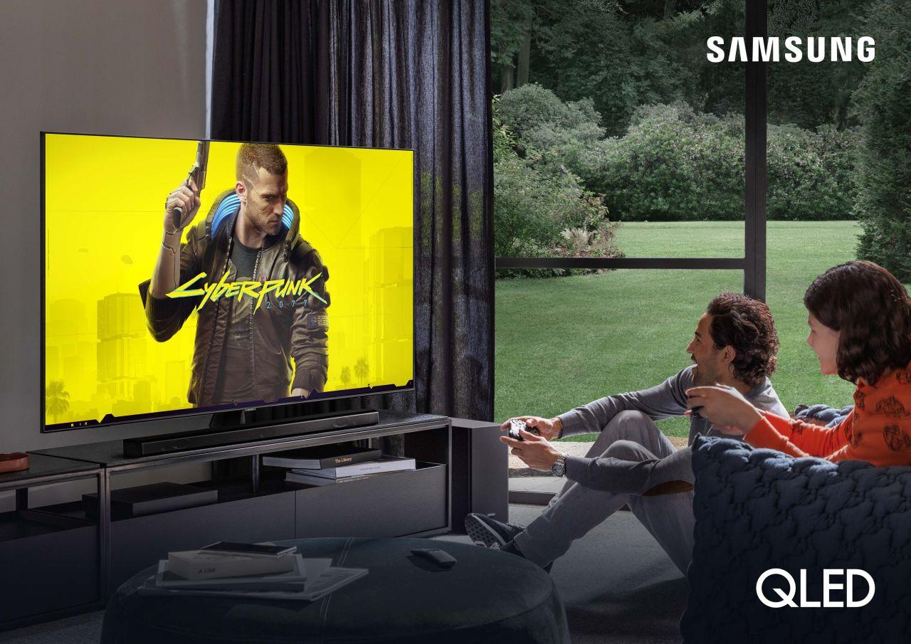 Samsung QLED – przewodnik dla graczy