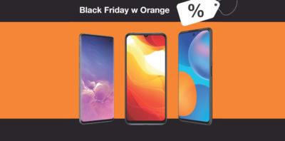Black Friday w Orange – wielkie obniżki cen smartfonów