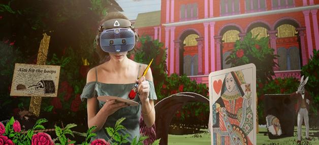 """HTC VIVE Arts wraz z muzeum V&A przenosi Alicję w Krainie Czarów do krainy VRów – """"Alice: Curiouser and Curiouser"""""""