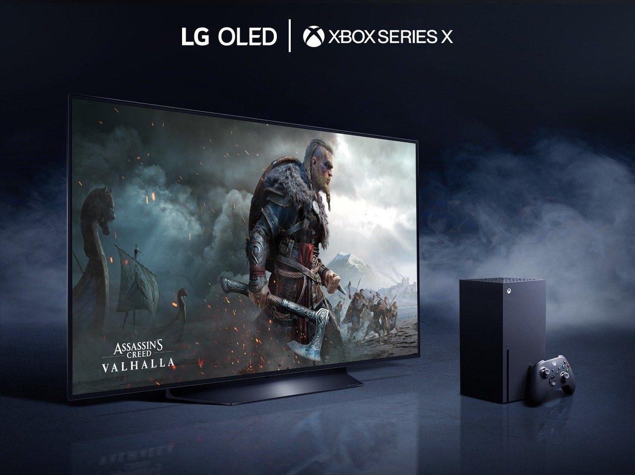 Telewizor LG OLED i konsola Xbox Series X gwarantują najwyższy poziom satysfakcji z gier