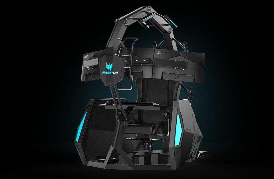Modułowy fotel dla graczy Predator Thronos Air dotarł do Europy