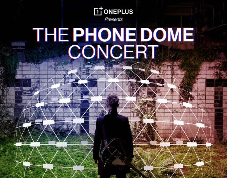 OnePlus organizuje interaktywny koncert w iglo zbudowanym z telefonów OnePlus