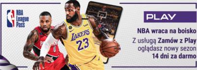 Oglądaj nowy sezon NBA – dzięki NBA League Pass w PLAY