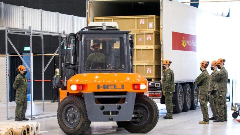 Wsparcie logistyczne Poczty Polskiej w walce z Covid-19